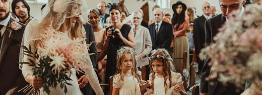 Lawshall Church wedding - see more photos ...
