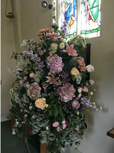 Arrangement in Suffolk church